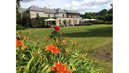 The Hartnoll Hotel, where Adam stayed during his trip to Devon