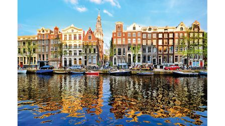 Amsterdam is an hour's flight from Norwich