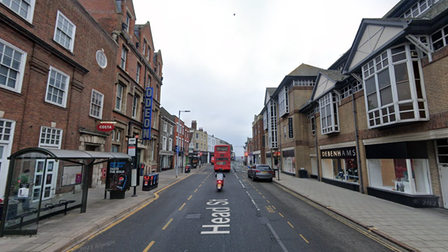 Two arrested after an assault in Head Street Colchester