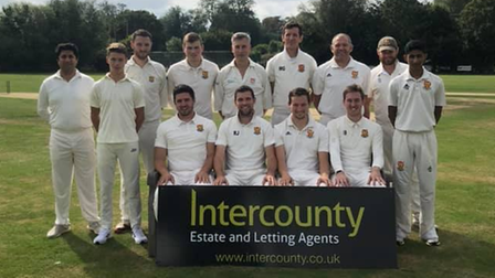 Dunmow Cricket Club's second team were promoted in the Two Counties Cricket Championship.
