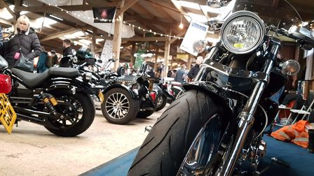 The 29th Copdock Motorcycle Show will be held at Trinity Park in Ipswich