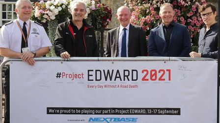 Project EDWARD road safety campaign in Ely