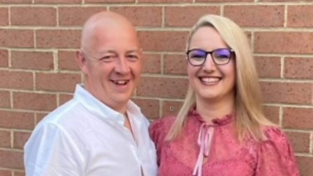 Simon and Frances Rogers, from Thetford, after their weight-loss journey.
