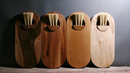 Ewen Brown of Slow Made Goods crafts beautiful wooden items for the home