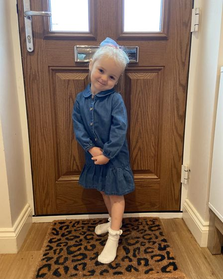 Isla Thornhill (pictured) suffered a seven-minute seizure after a short period of being unresponsive last week (September 7).
