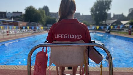 Beccles Lido in Suffolk