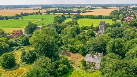 The property is set on nine acres of land