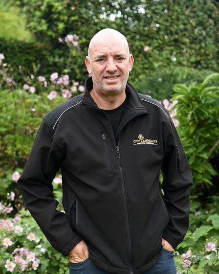 Paul Davis has been a gardener for 30 years, He will be attending CHelsea flower show to interview s