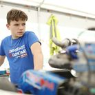 Vinnie Phillips of Benwick came third in the IAME Euro Series