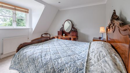 Large double bedroom in this huge family home for sale in Necton near Swaffham in Norfolk