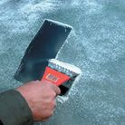 Icy windscreens and lack of visiblity is a major cause of winter accidents.