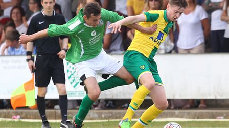Norwich City youngster Connor McGrandles faces a long road to recovery after breaking his leg playin