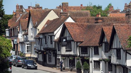 Lavenham's architecture is famous across the country