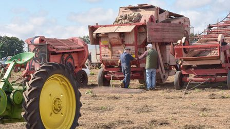 Farming and tractor auction at Manor Farm in Aldborough. Byline: Sonya Duncan
