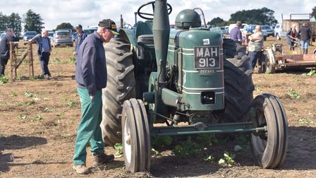 Farming and tractor auction at Manor Farm in Aldborough.Byline: Sonya Duncan