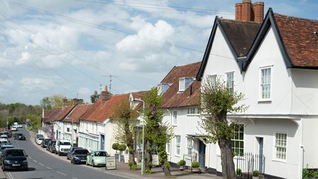 Debenham in the sunshine. Picture: Sarah Lucy Brown