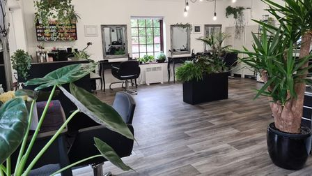 Terri Harris,who works at Bloomin' Hair Salon in Taverham, is in the running for a national award