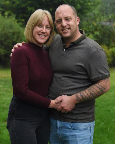 Stevie and Lisa were together for 22 years before tying the knot in December 2019.