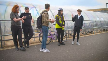 Students at Neale-Wade Academy in March have produced a series of short films illustrating the dangers young people face