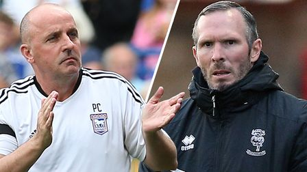 Paul Cook and Michael Appleton go head-to-head this weekend