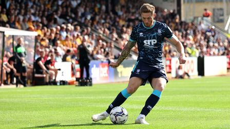 Ipswich Town will come up against midfielder Teddy Bishop when they play Lincoln this weekend