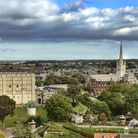 Norwich Castle and Norwich Cathedral. Photo: David Kirkham.