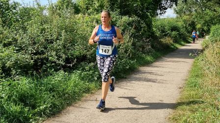 Grange Farm & Dunmow Runners were out in force at the Takeley 10k.