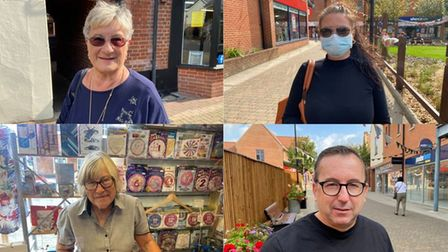 People in Dereham have given their take on face coverings potentially being legally mandated again