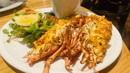 Lobster at The Lion in East Bergholt