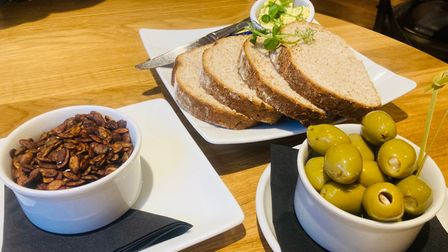 Nibbles at The Lion in East Bergholt