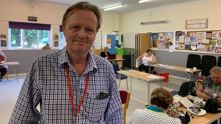 One of the trustees for First Focus in Fakenham,Howard Young.