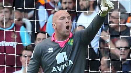 Fans have voted for John Ruddy to return in goal for Norwich City.