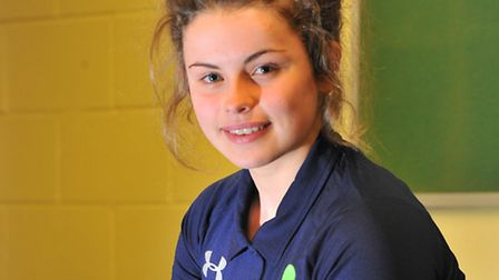 Young Norfolk Sports Academy, Cerys Maryan. Picture by SIMON FINLAY.