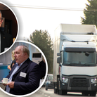 Robert Baxter (L) and Paul Day (R) have raised serious concerns about recruitment in the transport trade