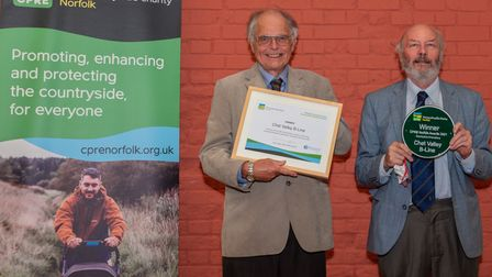 Chet Valley B-Line -one the winners ofthe 2021 CPRE Norfolk awards