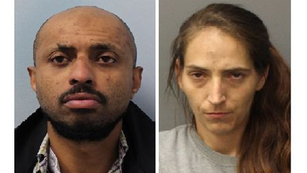 Anton Welioand Stephanie Smillie... each jailedfive years for string of cashpoint robberies