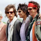 Charlie Watts with The Rolling Stones