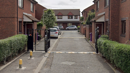 Claire Place... gated, private turning where illegal gunrunning was going on