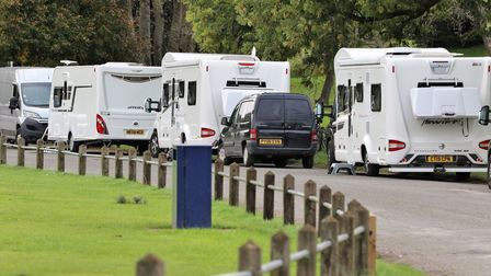 Travellers caused problems in Exmouth