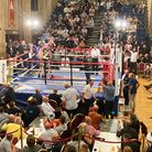 Liam Goddard beats Justin Menzie at The Halls in Norwich
