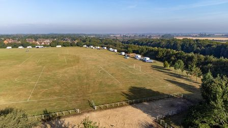 Gunthorpe Harriers FC have been forced to make the decision after Travellers set up camp on their pi