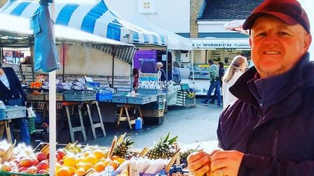 Downham Market traders have continued to serve the community despite coronavirus fears. Picture: Mar
