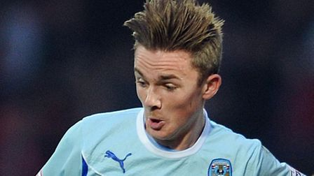 James Maddison was on target for Coventry against Bury. Picture: Clint Hughes/PA Wire.