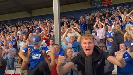 Ipswich Town fans enjoyed their day at Lincoln City as Town won 1-0 yesterday