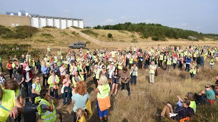 Sizewell C protest PICTURE: CHARLOTTE BOND