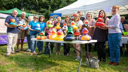 A range of businesses took part in the Active Fakenham corporate duck race.