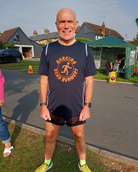 Ron Vialls at Stansted 10k