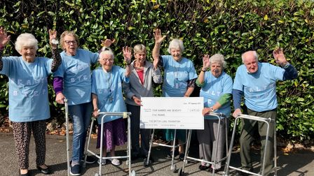 Residents at The Firs Residential Home in Budleigh Salterton