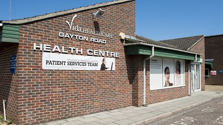 Gayton Road Health Centre in King's Lynn is one of the surgeries that will be affected by the shortf