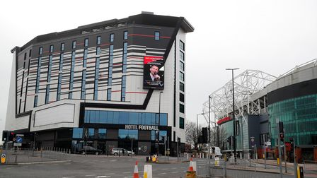 Hotel Football is located a stone's throw from Old Trafford